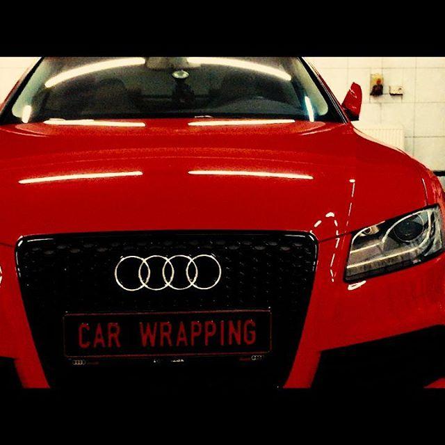 #darkstudio #carwrapping #przyciemnianieszyb #oklejaniesamochodow #przyciemnianielamp #reklama #folie #onewayvision #audi #rs5 #power #audirs5 #sline #audilove #redcar #blackwheels #Gliwice #zabrze #katowice #polska #top